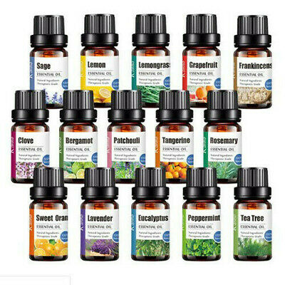 Essential Oils 100% Pure Natural Aromatherapy Essential Oil 10ml Fragrance Aroma