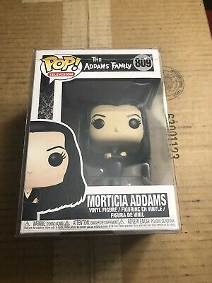 FUNKO POP!TELEVISION MGM THE ADAMS FAMILY MORTICIA ADDAMS 809 With Pop Protector