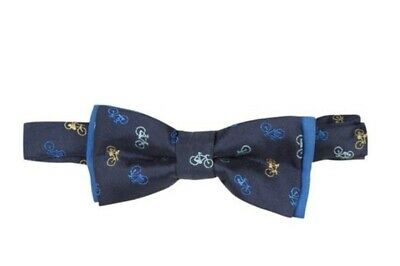 NEW PAUL SMITH  children kids boys bow, BICYCLE REPEAT PATTERN BLUE