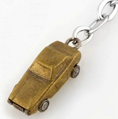 Paul Smith Antique Copper Toy Car Keyring Fob