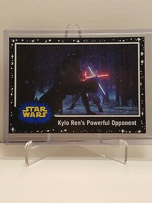 Star Wars Journey To The Rise Of Skywalker Card #80 Black Parallel #129 /199