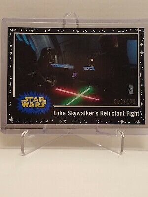 Star Wars Journey To The Rise Of Skywalker Card #75 Black Parallel #086 /199