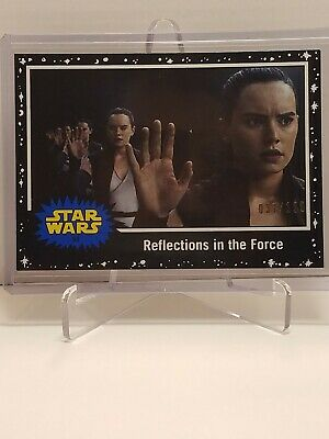 Star Wars Journey To The Rise Of Skywalker Card #84 Black Parallel #037 /199