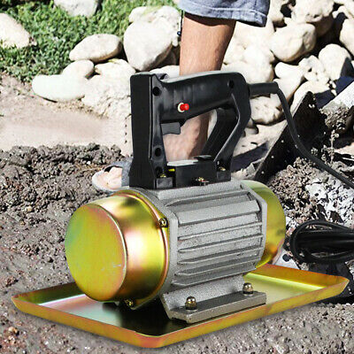 Compactor Plate Electric Compaction Wacker Cement Troweling Vibrator Motor