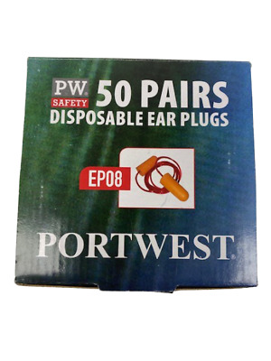 Safety ear Plugs Hearing Protection PW 50 Pairs