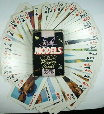 Erotic Playing Cards - 54 Models (Poker deck) Europe USSR 18+ made in Hong Kong