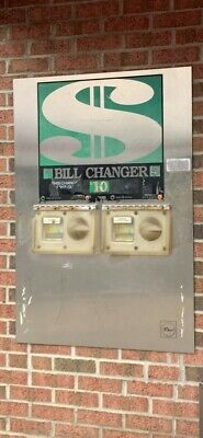 Wall Mount Bill to Coin Change Machine (Rowe)