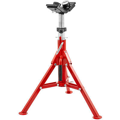 """Pipe Stand Fold-a-Jack 2-Ball Transfer Head, 12"""" Pipe Capacity, 24""""-42"""" Height"""