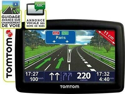Gps Tomtom Xl Navigation Automobile Cartes France Europe Avec Alertes Radars
