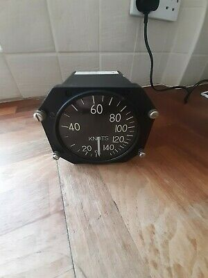 Vintage Kollsman Aircraft Air Speed Gauge