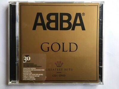 Abba Gold Greatest Hits CD/DVD 30 Anniversary Limited Edition 2004 Polar Music