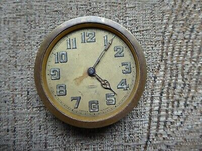 Antique   Travel Clock Parts 8 Day Example