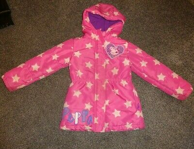 Girls Peppa Pig  Pink/Multi Padded Coat/Jacket Age 9/10 Years
