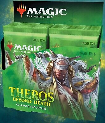 MTG Magic the Gathering Theros Beyond Death Collector Booster Box Factory Sealed