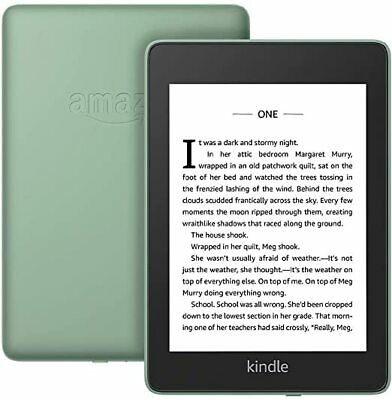 "Amazon-Kindle Paperwhite 6"" Waterproof (with special offers) 8GB-Black 10th Gen."