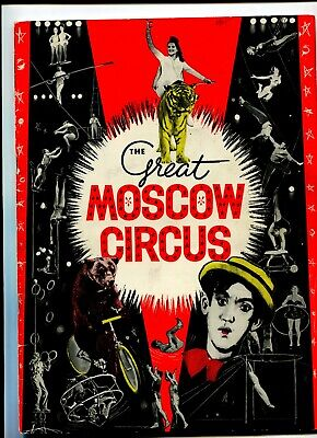 The Great Moscow Circus Australian Tour C 1965