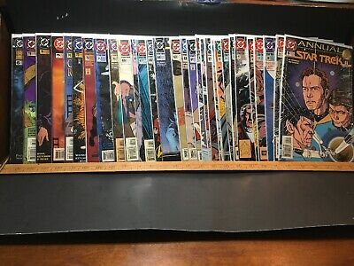 Star Trek Comic Book Lot Of 30