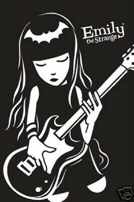 Emily The Strange Poster Size  x 36 in Wall Art Decoration LMT. EDIT.