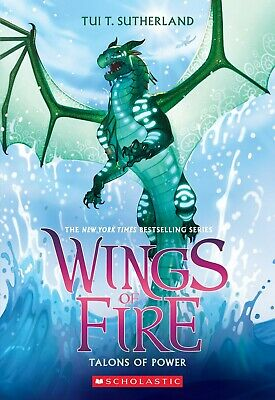 Talons of Power (Wings of Fire,Book 9) by Tui T. Sutherland Paperback Friendship