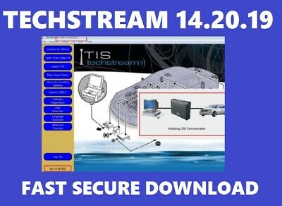 2019✔️Toyota Techstream V14.20.019✔️ Lexus✔️TIS✔️Software+Activation✔️DOWNLOAD
