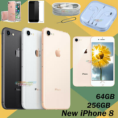 256GB Apple iPhone 8 Sim Free New Smartphone Unlocked 64GB Various Colours UK