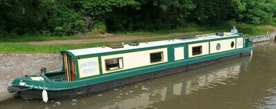 57ft Cruiser Style Narrowboat (Built From New Launched 2018) Canal Boat