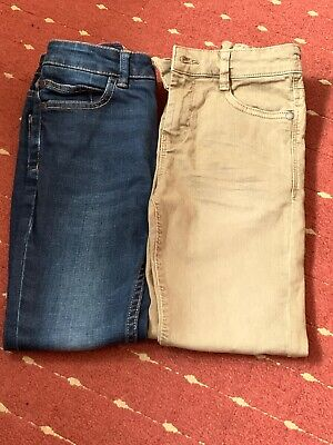 Boys Age 6 Years Light Brown Trouser/Blue Jean Bundle from NEXT
