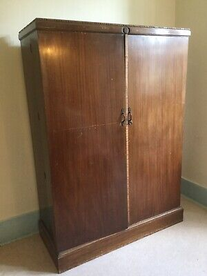 Vintage Early 1900s Gentleman's Compactom Wardrobe