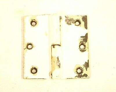"3.5 x 3.5"" Iron Hinge Stamped Antique Hardware Heavy Duty"