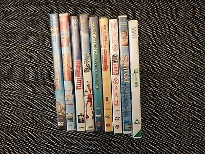 Eight (8) Childrens Animated DVD's