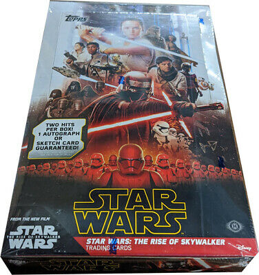 Topps 2019 Star Wars Rise of Skywalker Series 1 Factory Sealed Hobby Card Box