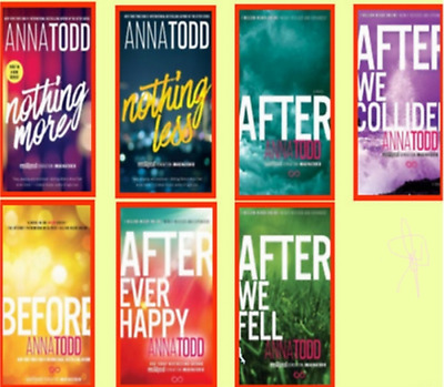 After Series (1-7) by anna todd [E-ß00K , PÐF , EPUβ , Кindle]