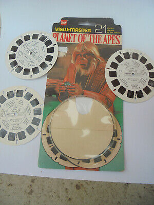 33053 View Master GAF Planet of the apes 1975 carded opened 5072