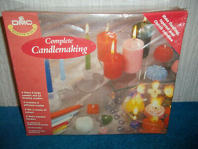 Complete Candlemaking Kit - Dmc - 6 Large & 12 Floating Candles - New & Sealed