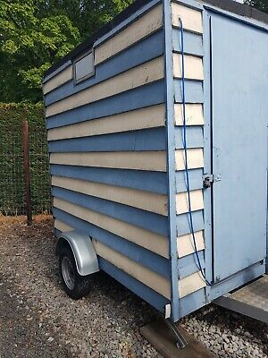 Used Catering Trailer / Transport Trailer PROJECT