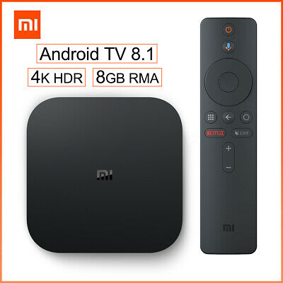 Xiaomi Mi Box S 4K HDR Android 8G+2G TV Streaming Media Player Box International
