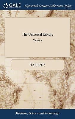 Universal Library by Curzon H. Curzon (English) Hardcover Book Free Shipping!