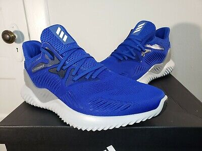 Adidas Alphabounce Beyond Team Running Shoes Royal Blue New B37227 (Size 13)