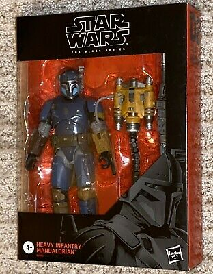 Star Wars The Black Series Heavy Infantry Mandalorian Deluxe Action Figure 6""