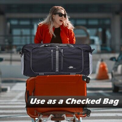 Portable Waterpoof Foldable Travel Luggage Baggage Carry-On Shoulder Duffle Bag