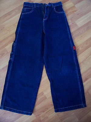Blue cotton denim jeans from Urban Skatewear, Age 9-10 years