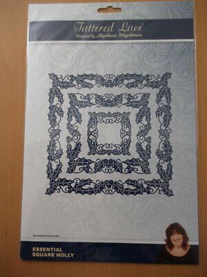 Tattered Lace Essential Square Holly Die