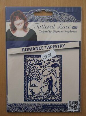 Tattered Lace Romance Tapestry Die