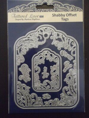 Tattered Lace Shabby Offset Tags Die