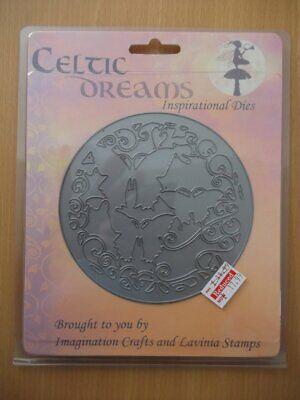 Imagination Crafts and Levinia Stamps Celtic Dreams Die