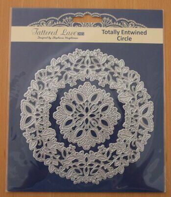 Tattered Lace Totally Entwined Circle Die