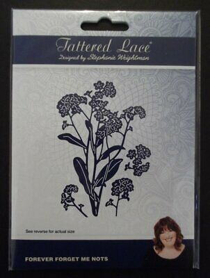 Tattered Lace Forever Forget Me Nots Die