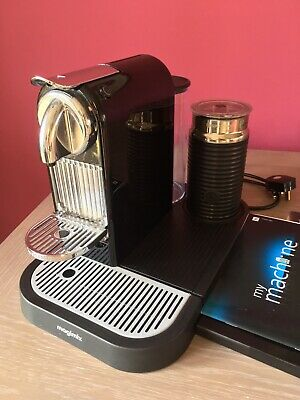 Nespresso magimix coffee machine and milk frother