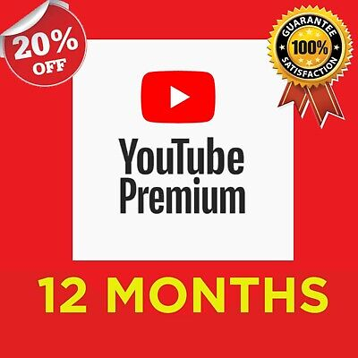 ✅ YouTube Premium W/ FREE YouTube Music (12 MONTHS) | WORLDWIDE | Fast DELIVERY✅
