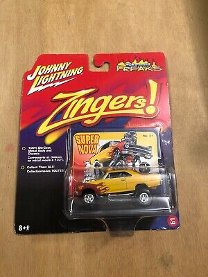 N41 Johnny Lightning  Street Freaks Import Heat 1996 Honda Civic Hatchback